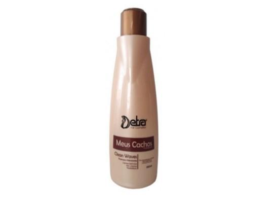 Detra Meus Cachos Manutenção Shampoo Clean Waves 500ml - R