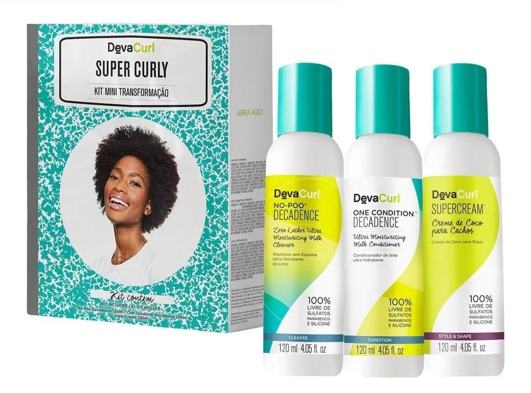 Deva Curl Kit 3 Passos Decadence (3x120)