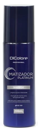 Dicolore MATIZADOR PLATINUM Shampoo 200ml - ST