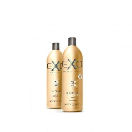Exo Hair Kit Ultratech Exoplastia Capilar 2x 500ml - CS