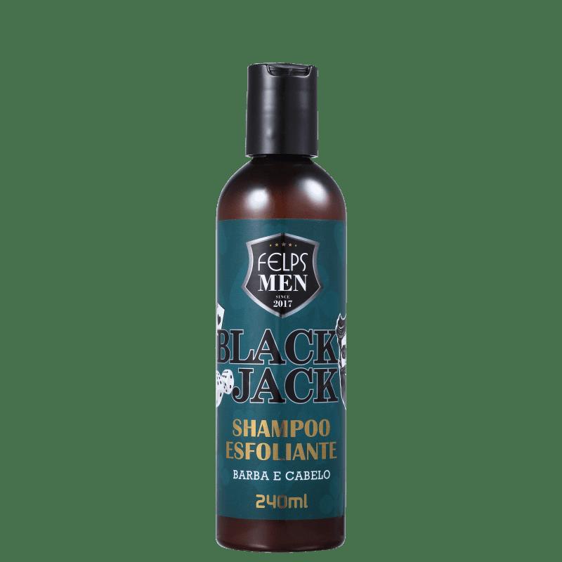 Felps Men Black Jack Shampoo Esfoliante 240ml