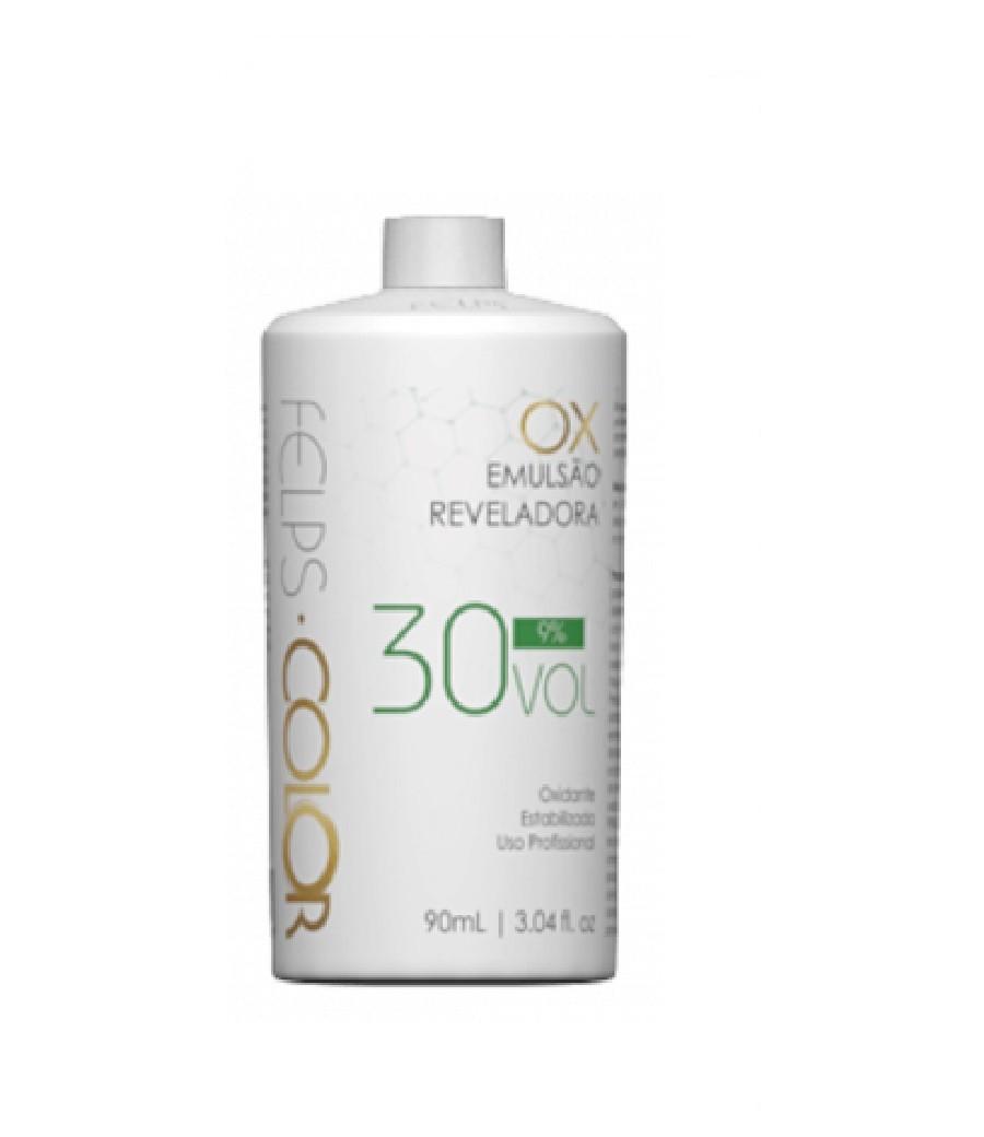 Felps Profissional Xblond OX Agua Oxigenada 30 Volumes 90ml