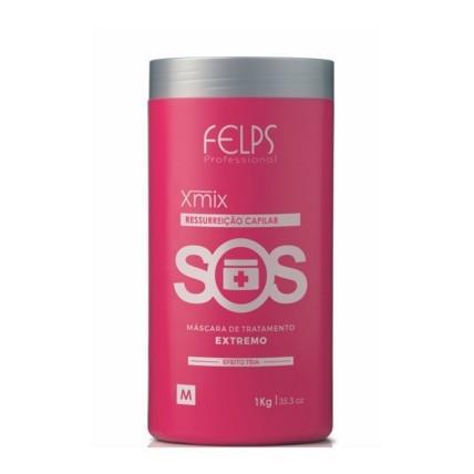 Felps Profissional Xmix SOS Máscara Antiemborrachamento - 1kg
