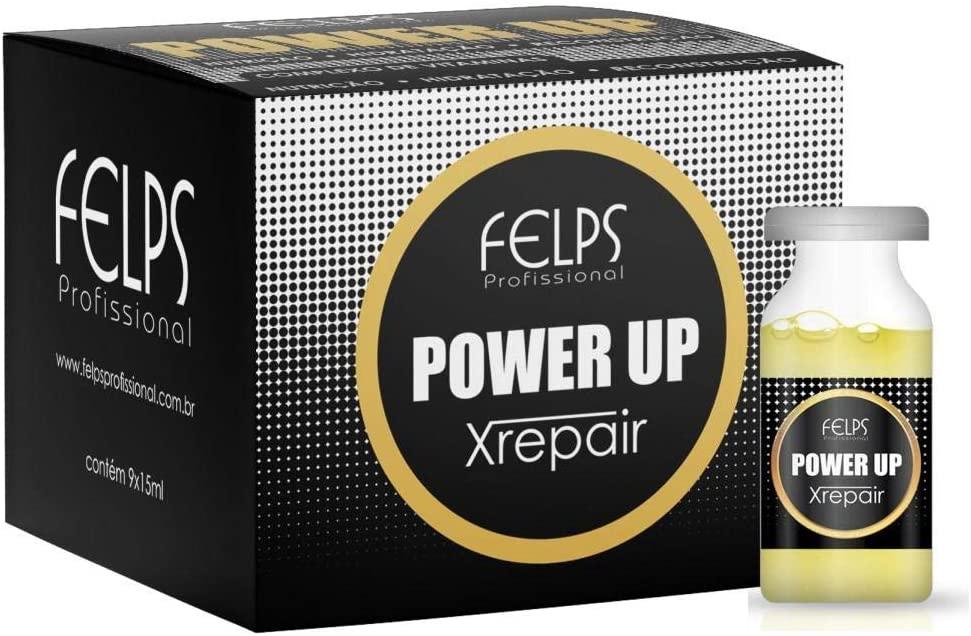 Felps Xrepair Complexo Vitaminas Power Up 9x15ml