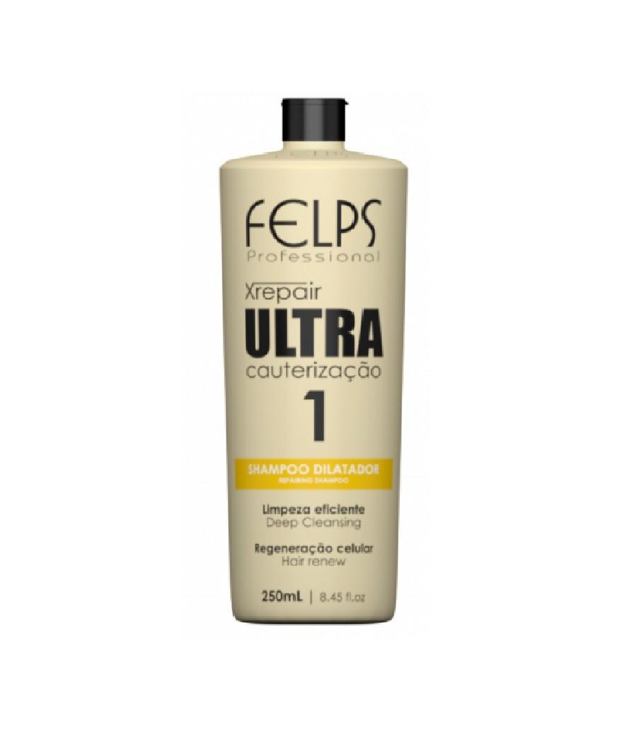 Felps Xrepair Shampoo Dilatador Ultra Cauterização 250ml