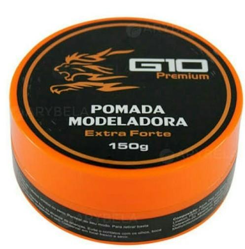 G10 Queratinha Pomada Modeladora Extra Forte150g