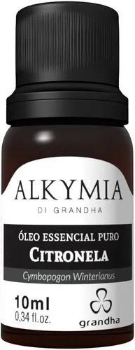 Grandha Alkymia Óleo Essencial Puro De Citronela 10ml