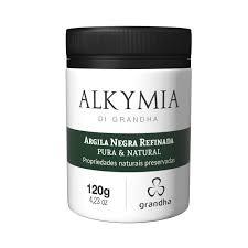 Alkymia Di Grandha Argila Negra Refinada Pura & Natural - 120gr