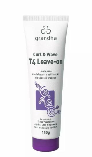 Grandha Curl & Wave T4 Leave-on Modelagem E Estilização 150g