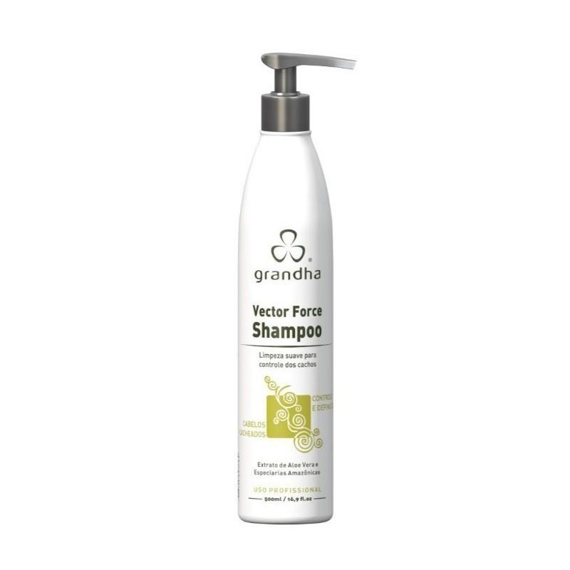 Grandha Curl & Wave Vector Force Shampoo 500ml
