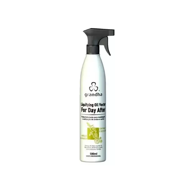 Grandha Curl & Wave Liquifying Oil Vector For Day After 500ml