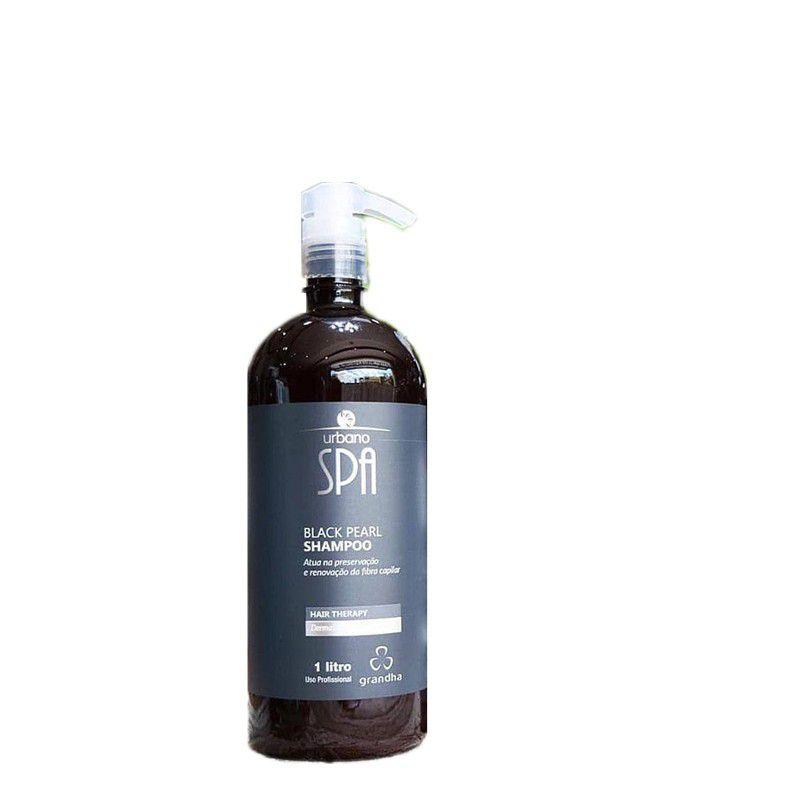 Grandha Hair Therapy Urbano Spa Black Pearl Shampoo 1L