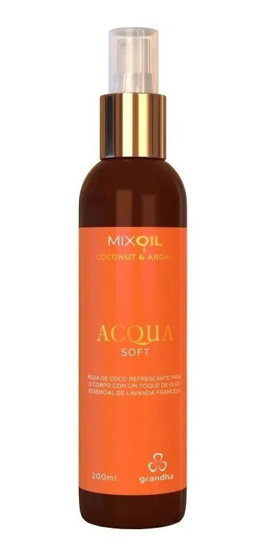 Grandha Mix Oil Coconut & Argan Acqua Soft 200ml