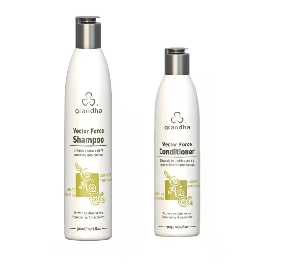 Grandha Vector Force Shampoo 300ml + Grandha Vector Force Conditioner 300ml