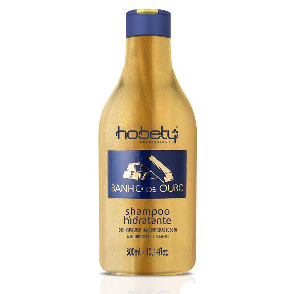 Hobety Banho de Ouro Shampoo Hidratante 300ml