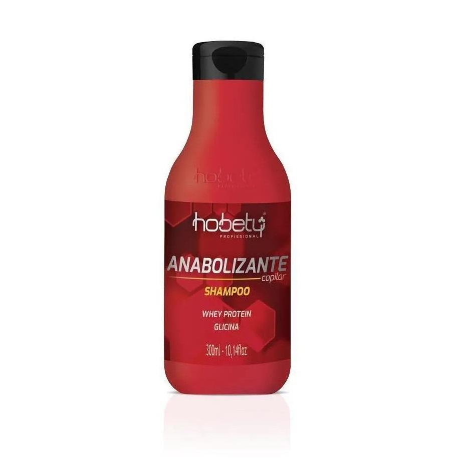 Hobety Kit Shampoo 300ml + Máscara Anabolizante 365g