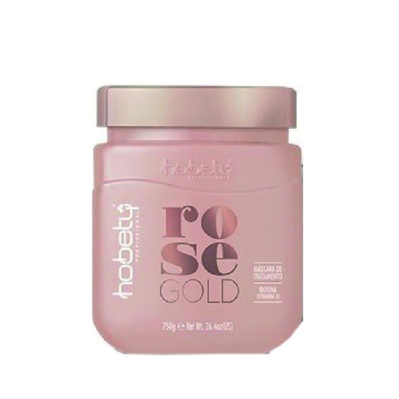 Hobety Máscara Rose Gold 750gr