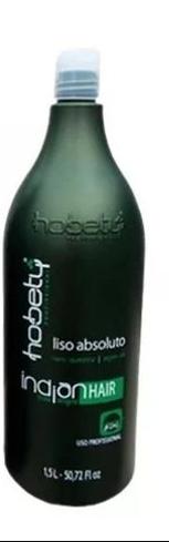 HOBETY PROGRESSIVA INDIAN HAIR - LISO ABSOLUTO
