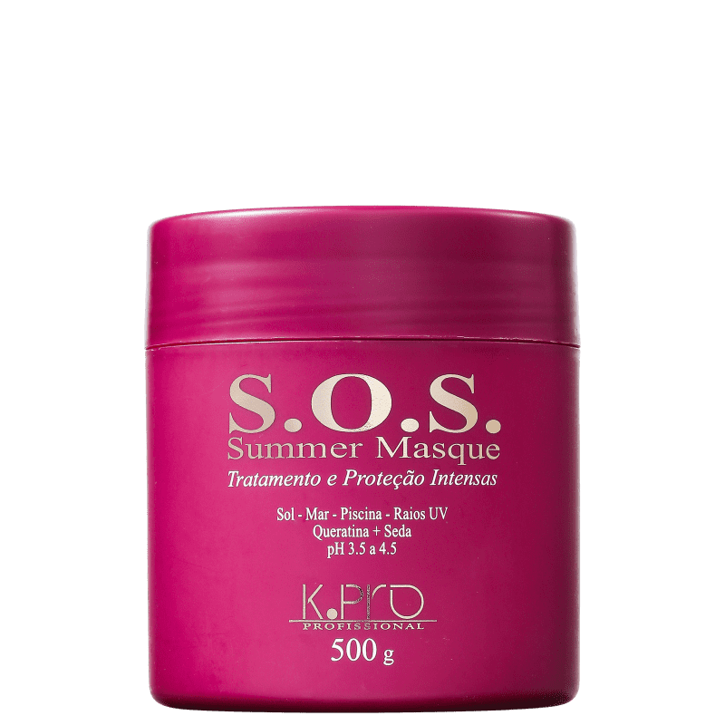 K Pro Máscara De Tratamento SOS Summer Masque 500gr - R
