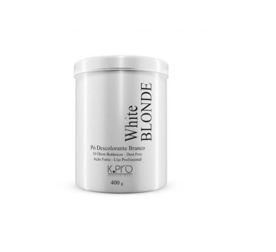 K Pro White Blonde Pó Descolorante Branco Dust Free 400g - R