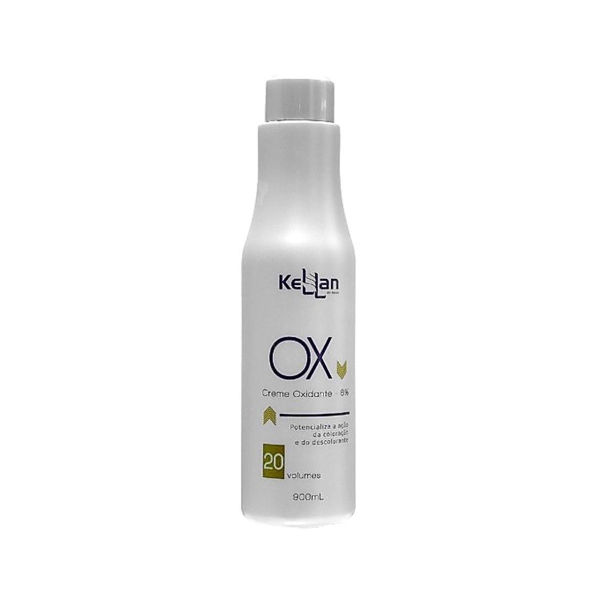 Kellan Creme Oxidante Ox 20 volume 900ml - Àgua Oxigenada