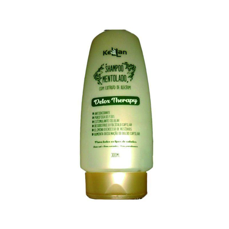 Kellan Detox Therapy - Shampoo Mentolado 300ml