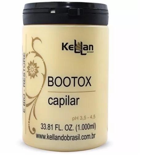 Kellan Profissional Redutor de Volume Bootox Tratamento Capilar 1kg
