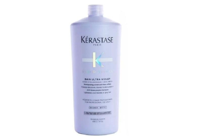 Kérastase Blond Absolu Bain Ultra-Violet - Shampoo Desamarelador 1L