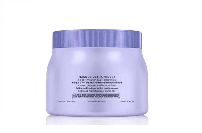 Kérastase Blond Absolu Ultra-Violet - Máscara Desamareladora 500ml