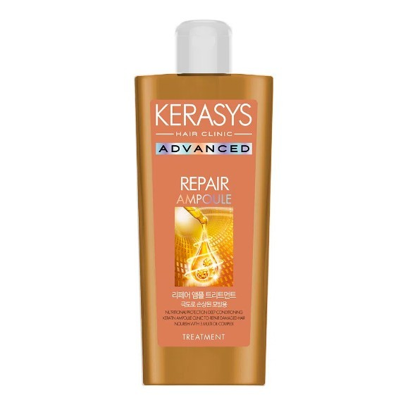 Kerasys Advanced Ampoule Repair Treatment Máscara de Tratamento 180ml