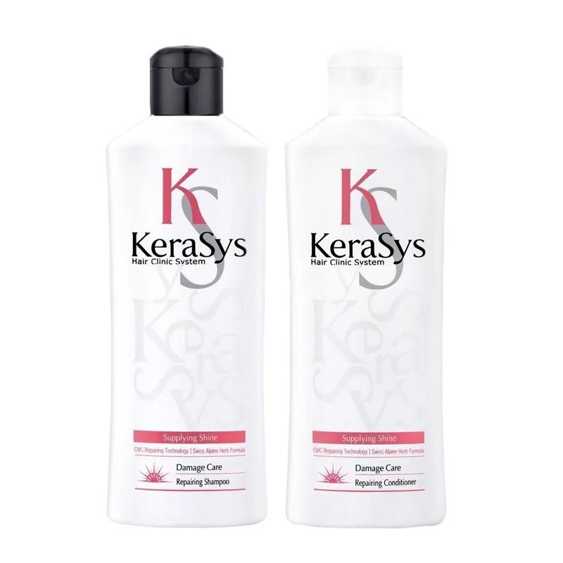 Kerasys Repairing Shampoo Condicionador Óleo Abacate 2x180ml