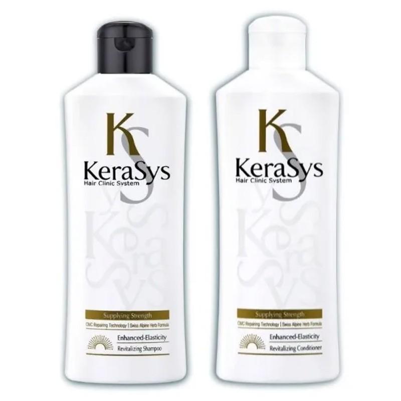 Kerasys Revitalizing Shampoo Condicionador Cabelo Fino 2x180