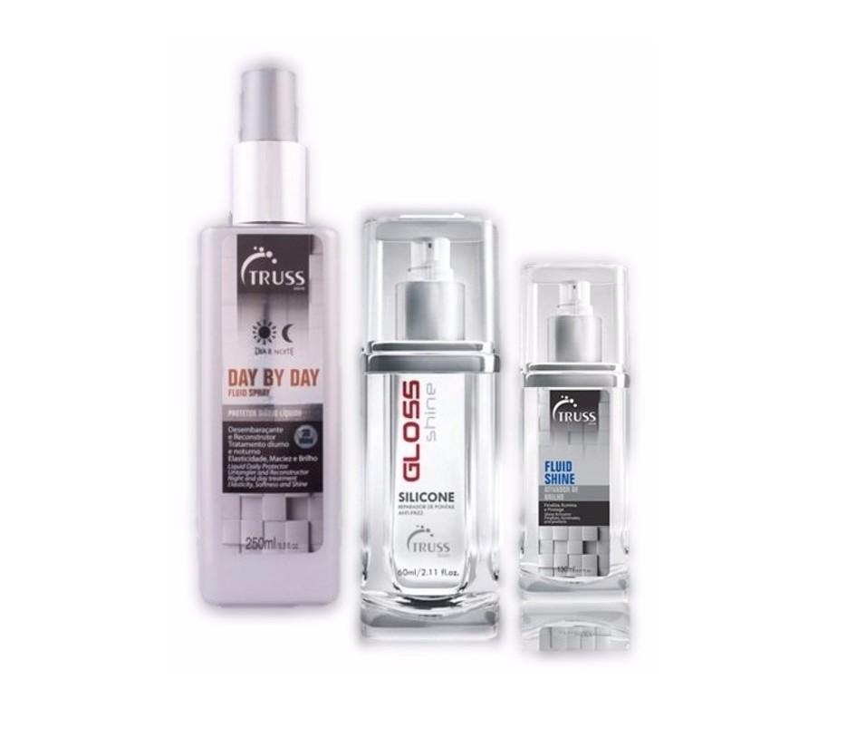 Kit Truss Profissional Spray Finalizadores - 3 Sprays Finalizadores