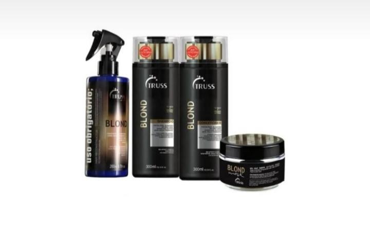 Kit Truss Specific Blond Hair 4 Produtos