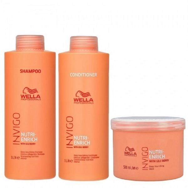 Kit Wella Invigo Nutri-enrich 3 produtos Grande