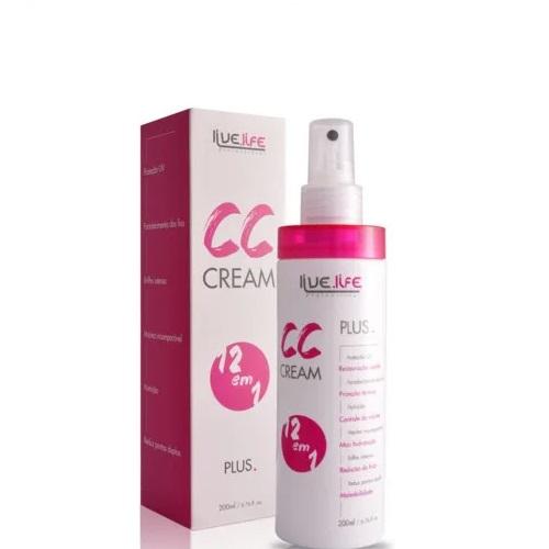 Live Life CC Cream 12 em 1 Plus 200ml