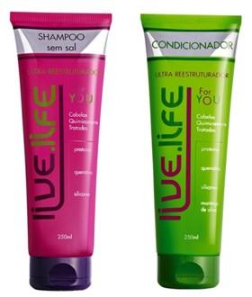 Live Life Kit For You - Shampoo + Condicionador 2x250ml