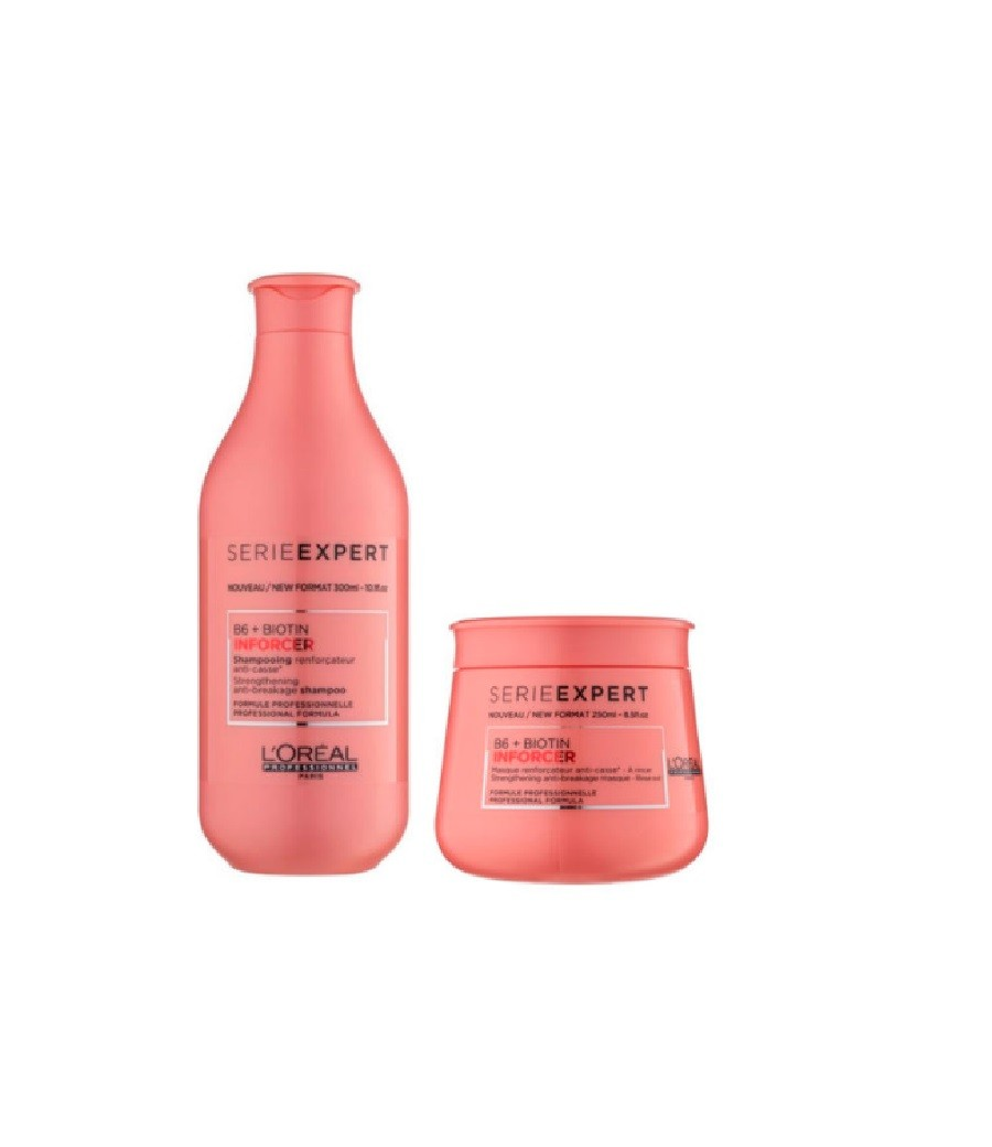 Loreal Professionnel Inforcer Kit Shampoo 300ml + Máscara 250g - CA
