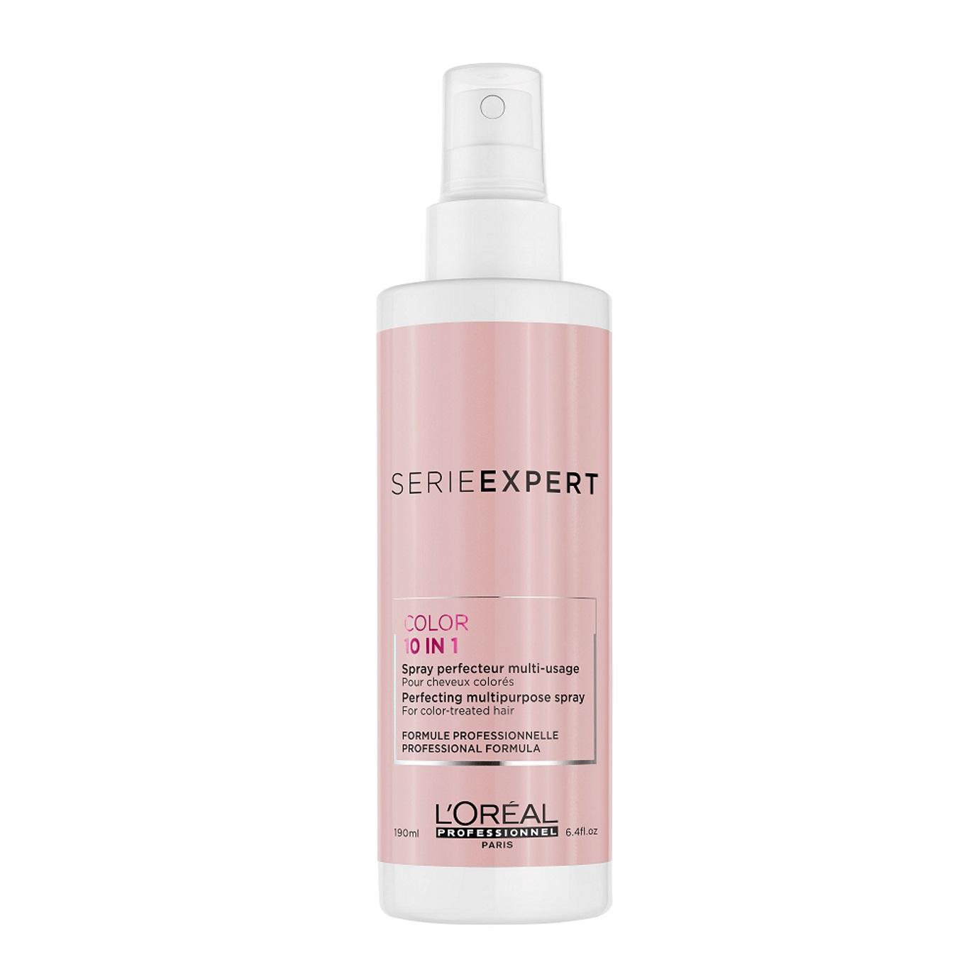 Loréal Professionnel Spray Leave-In 10 Em 1 Serie Expert Vitamino Color Resveratrol 190ml