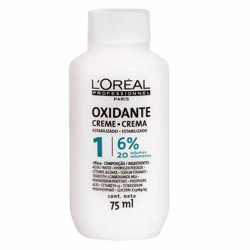 Loreal Profissional Creme Oxidante 6% 75ml - 20 Volumes