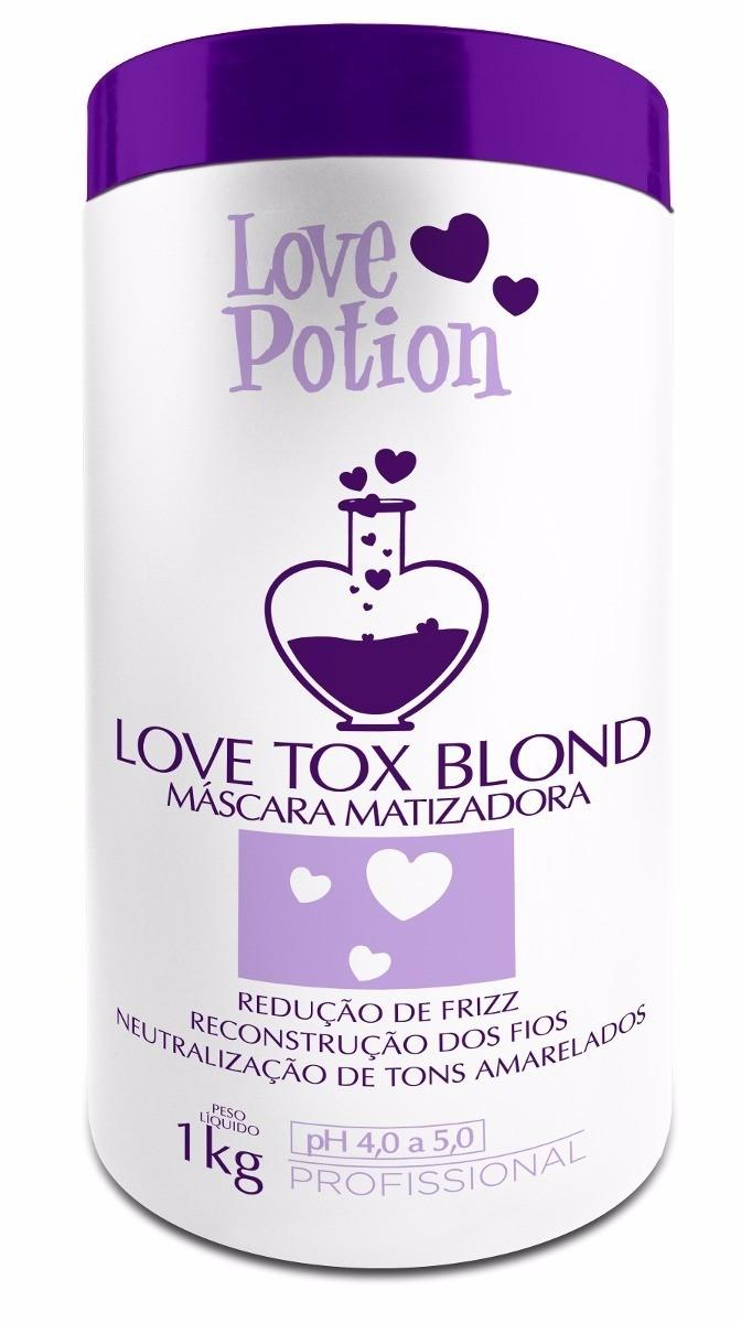 Love Potion Love Tox Blond Creme Alisante Matizador 1kg - T