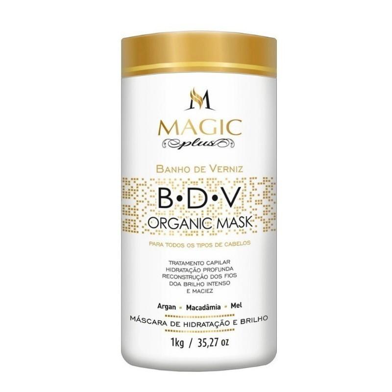 Magic Plus BDV Organic - Máscara Banho de Verniz 1kg