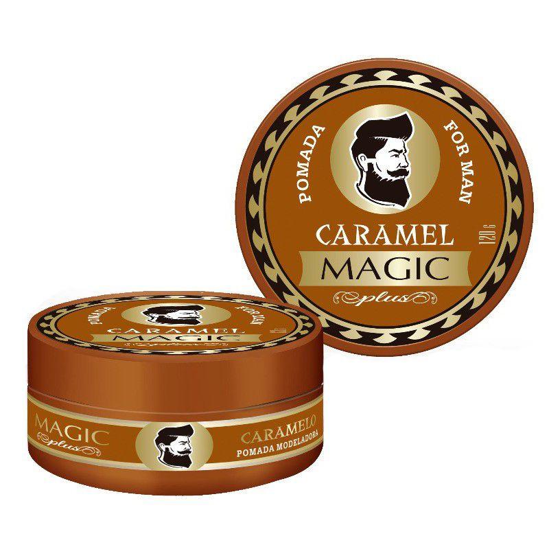 Magic Plus Pomada For Man Caramel Extra Forte 120g