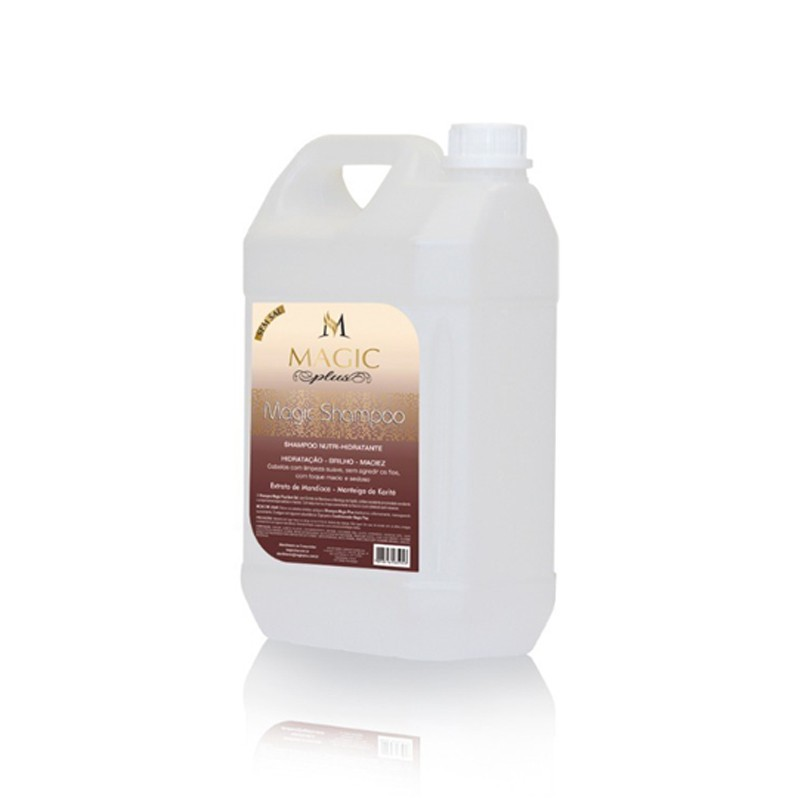 Magic Plus Shampoo Galão - Extrato de Mandioca 5L