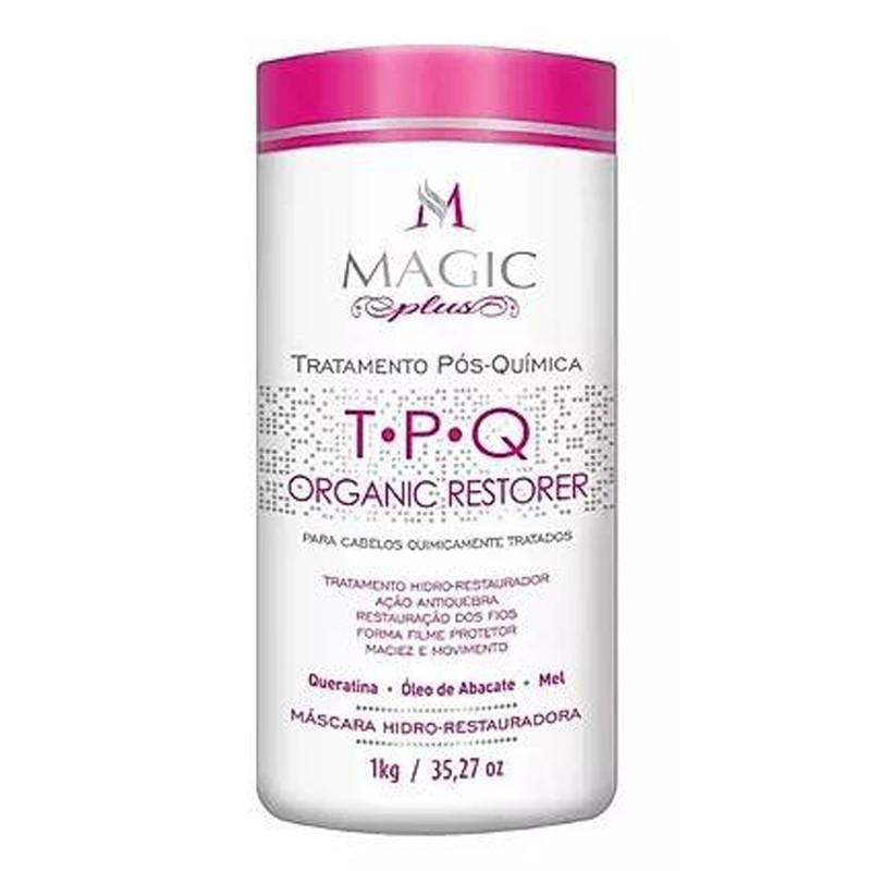 Magic Plus TPQ Organic Restorer - Tratamento Pós Quimica 1kg