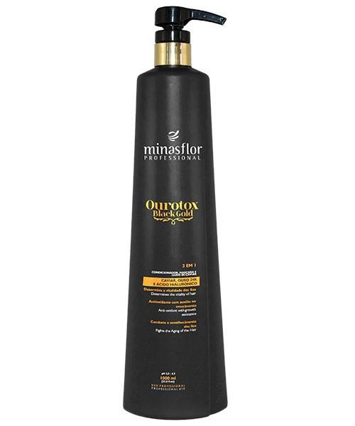 Minas Flor Condicionador 3 em1 Ourotox Black Gold 1000ml