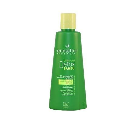 Minas Flor Condicionador Life Natural Detox Bambu 300ml