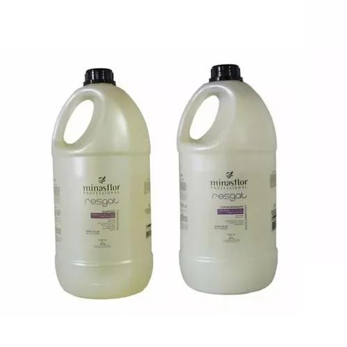 Minas Flor Kit Shampoo+Condicionador Resgat 2x5000ml