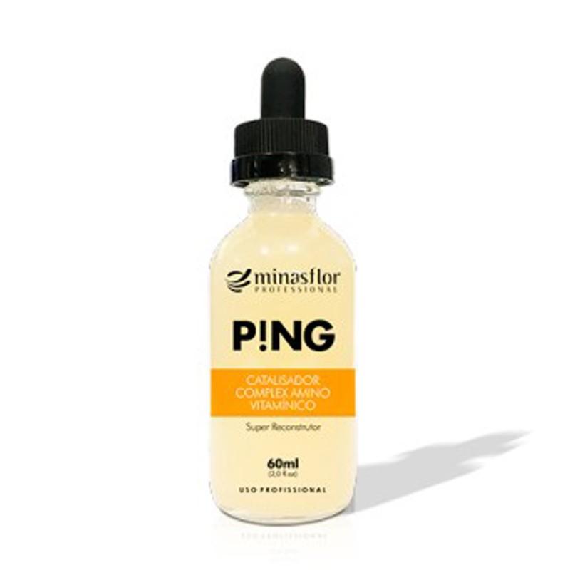 Minas Flor P!NG - Catalisador Complexo de Aminoácidos, Proteinas e Vitaminas 60ml