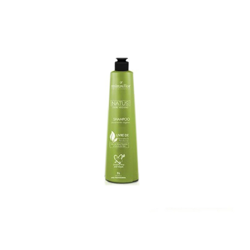 Minas Flor Profissional Natus 100% Vegano Shampoo 1L